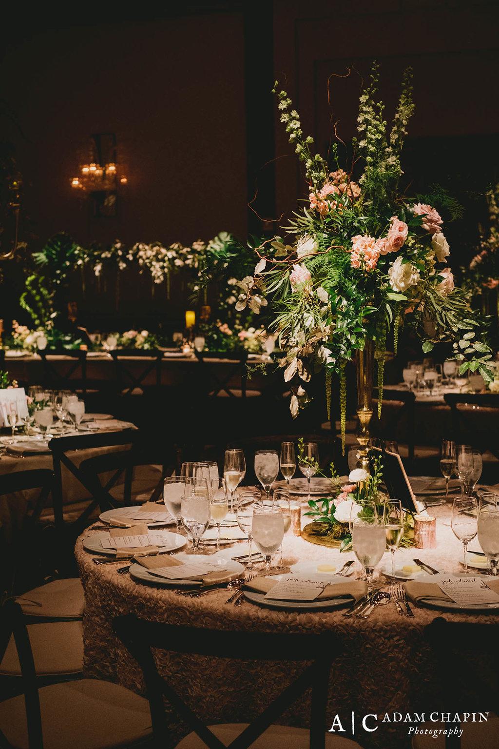 Raleigh Event Florist, Umstead Hotel and Spa, Ballroom Wedding