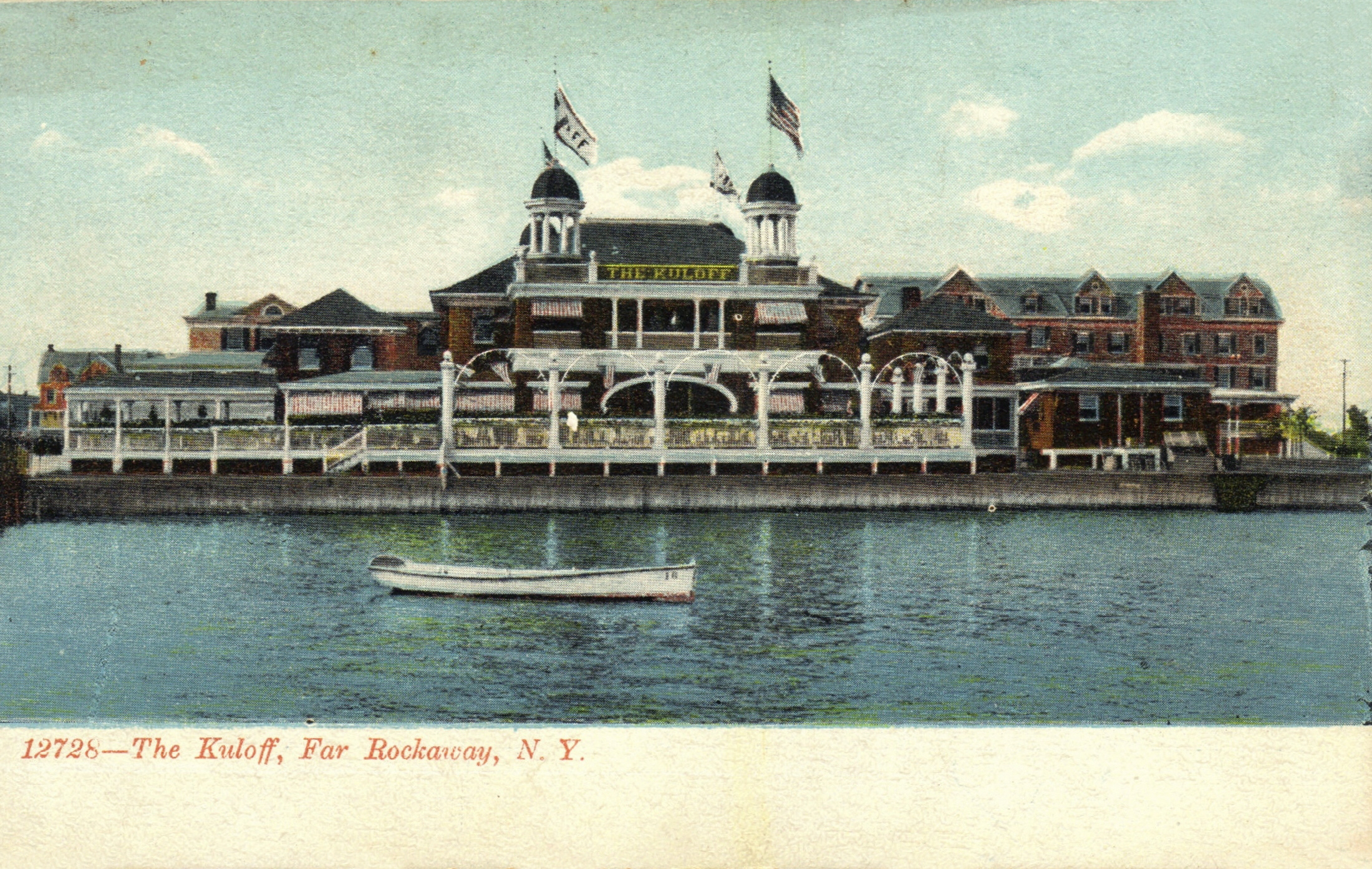 One Of The Many Beautiful Hotels Along The Beach in Old Far Rockaway  Photo courtesy of the  Leiman Library  and The Leiman Collection on  Rockawaymemories.com
