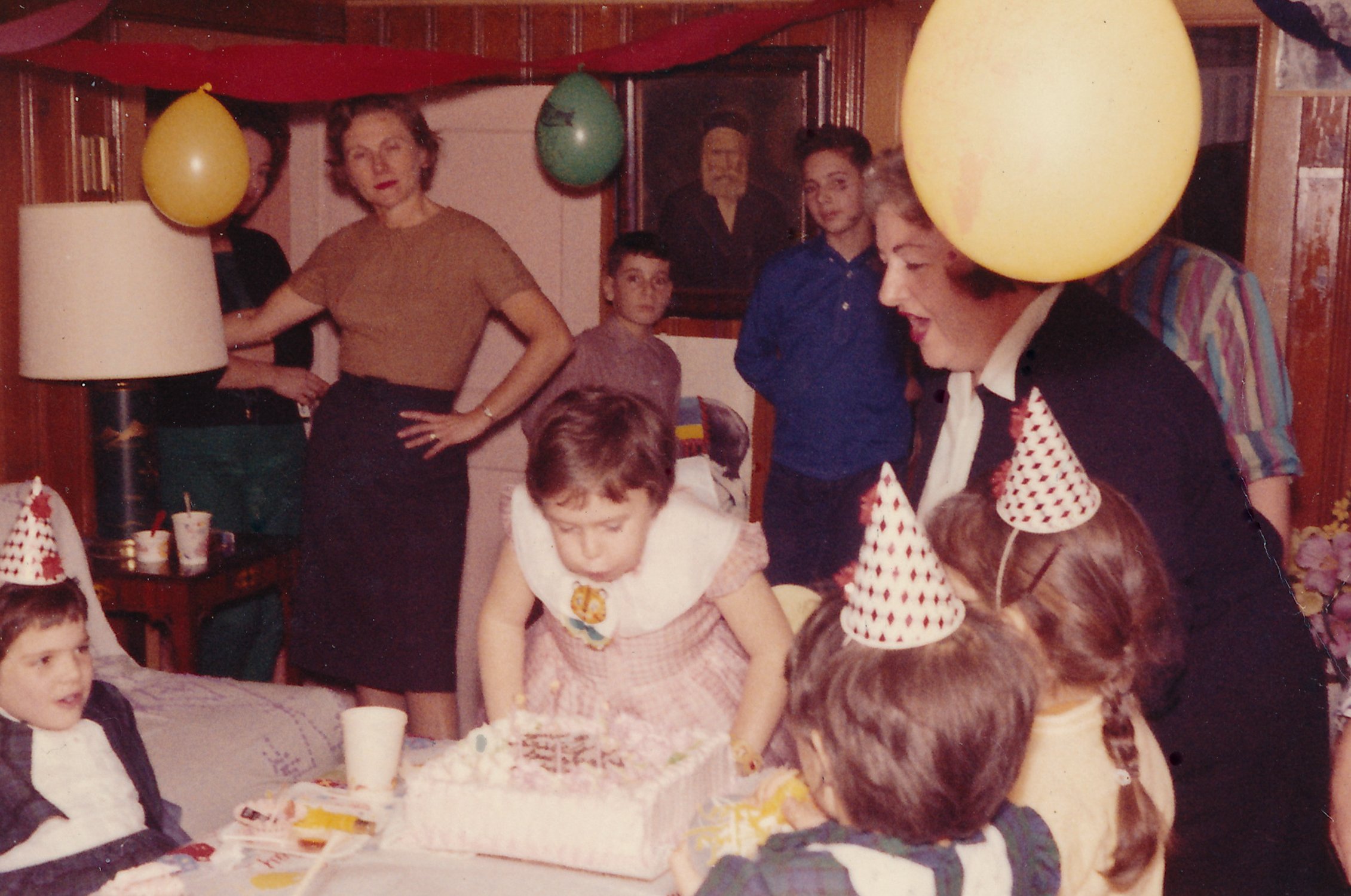 My 1st Grade Birthday Party In Our Finished Basement.