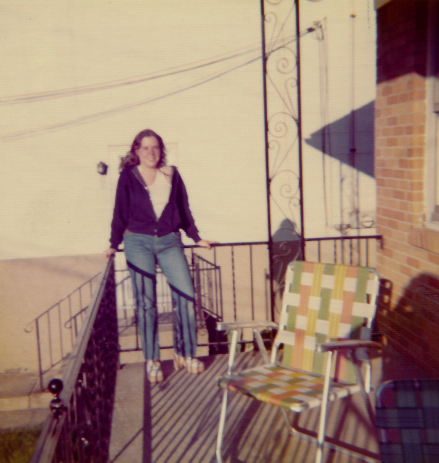 Me On The Porch 1973-4?