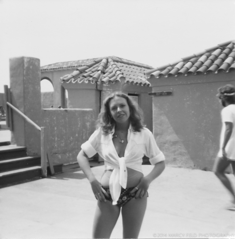 Life's a beach. Me in Atlantic Beach '76 or '77