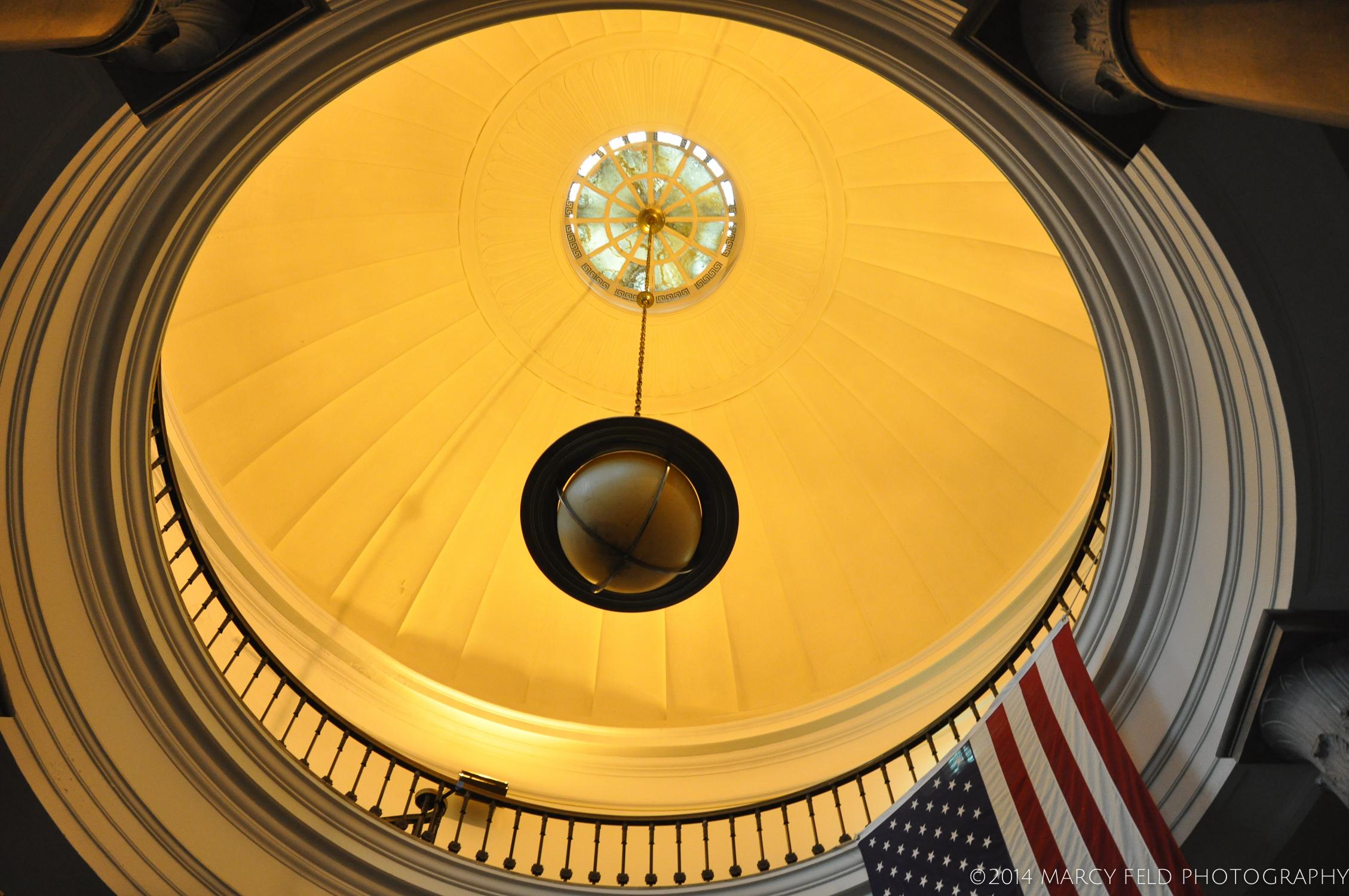 The rotunda of the Post Office 2014