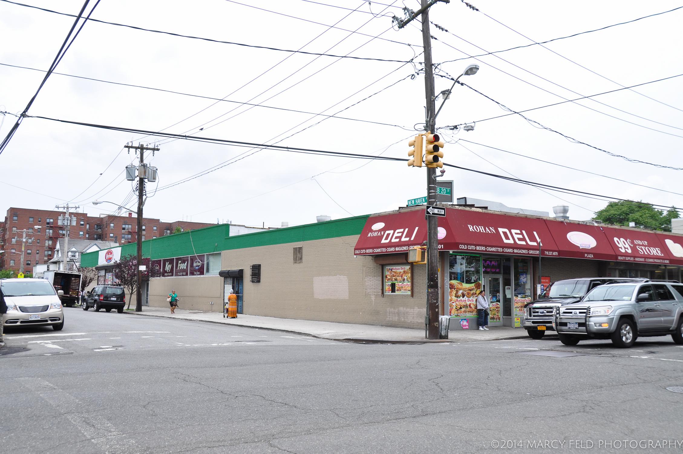 Formerly the Big Apple Supermarket & Zomicks Bakery