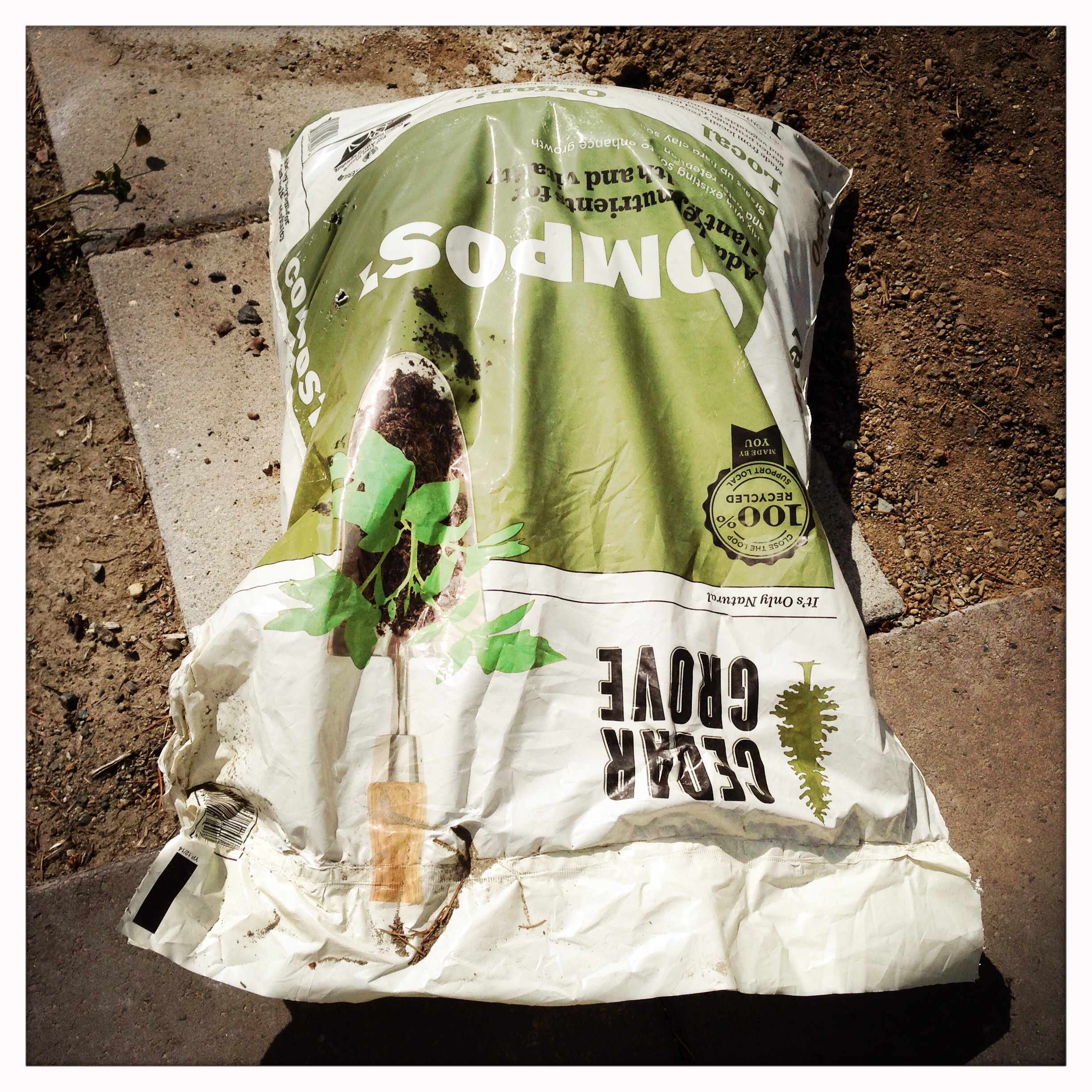 Compost is truly the miracle cure for all soil texture and nutrient problems. It will help drain a clayey soil, retain moisture in a sandy soil, and provide organic matter that can be taken up by plants as fertilizer over time.