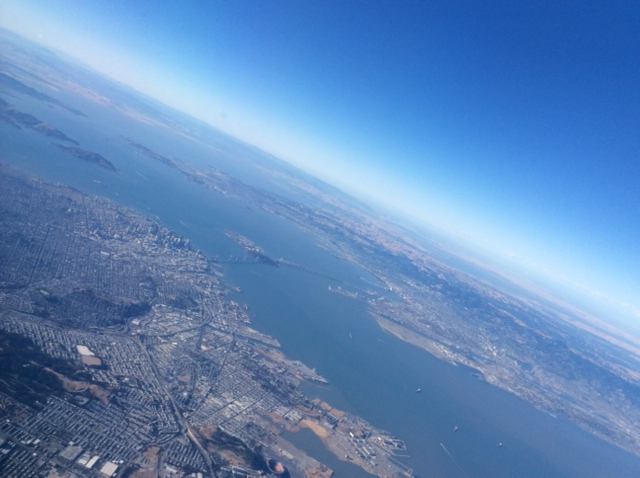 The San Francisco Bay Area by air.