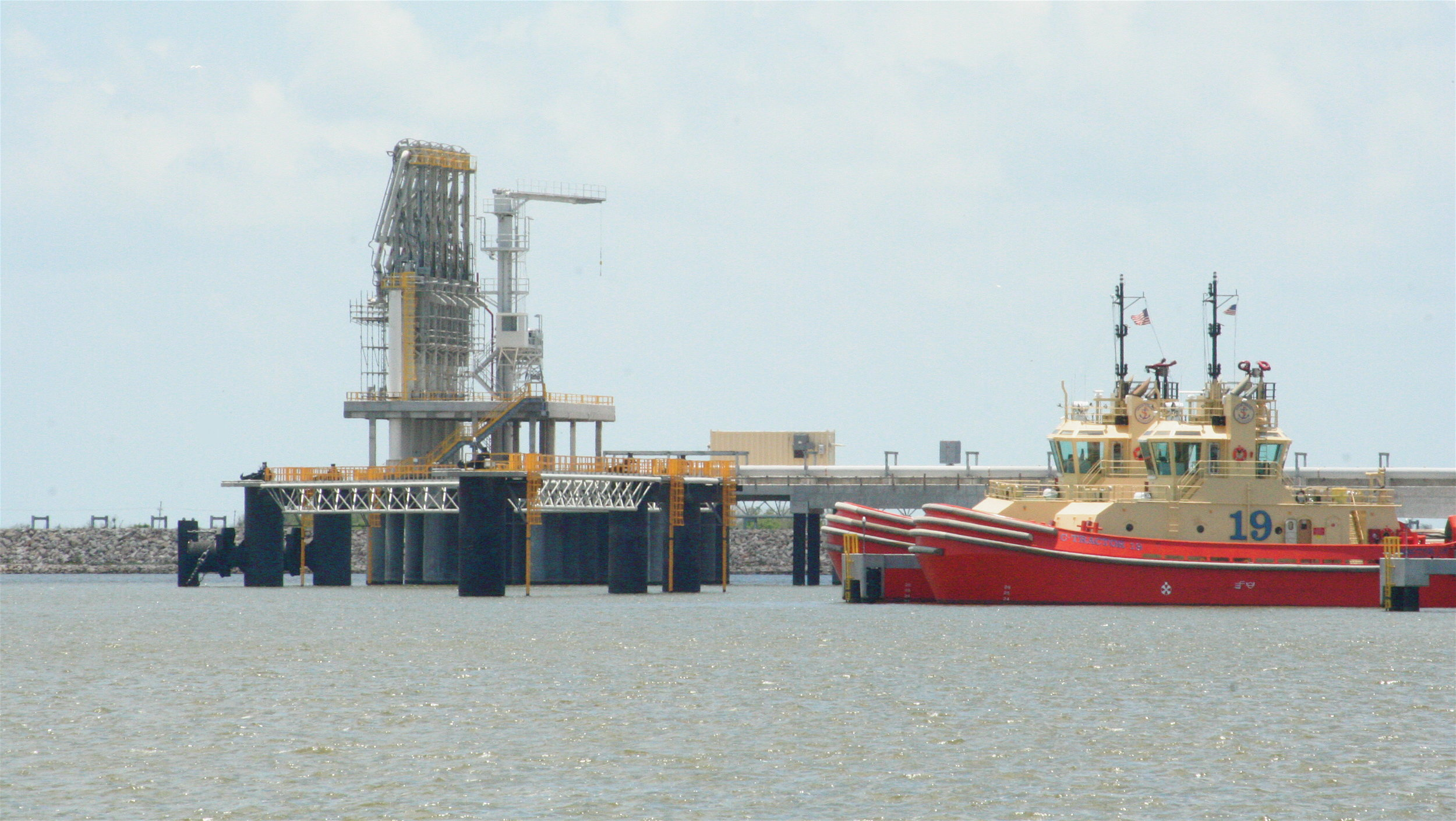 Sabine Pass LNG Terminal. Photo courtesy of Roy Luck.