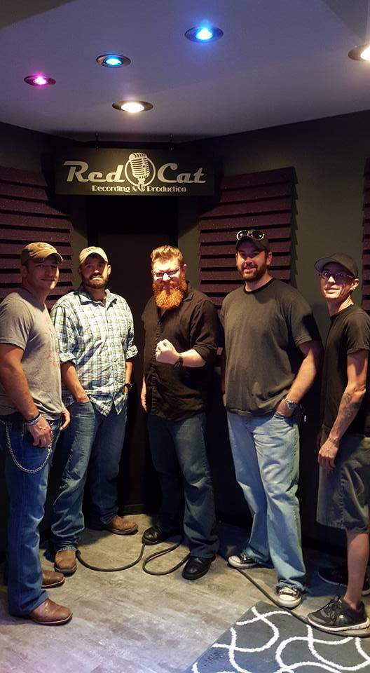 Bucky, Casey, Engineer Luke, Tyler, Mike, South Of Vertical, Tulsa OK
