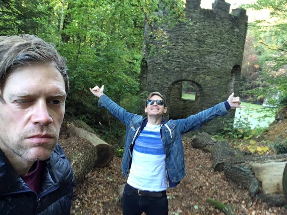 Day 6. Tom and I went to Bone Bone's castle to get the shots of The Keeper of the Gate to put in the end scene. At this point I was well and truly sick of filming. Luckily it was the last thing we had to film for the short.