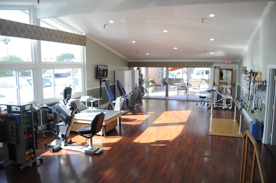 Rehabilitation center gymnasium