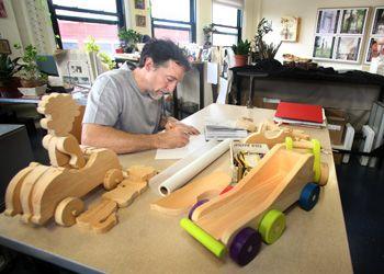 Industrial Designer, Patric Santerre of ARCADIA designworks in Portland