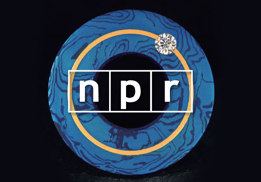 Crissa Hewitt and Steven deLuque visit with internationally recognized jeweler and metalsmith Steve Midgett on NPR - part 2.   Click to listen.