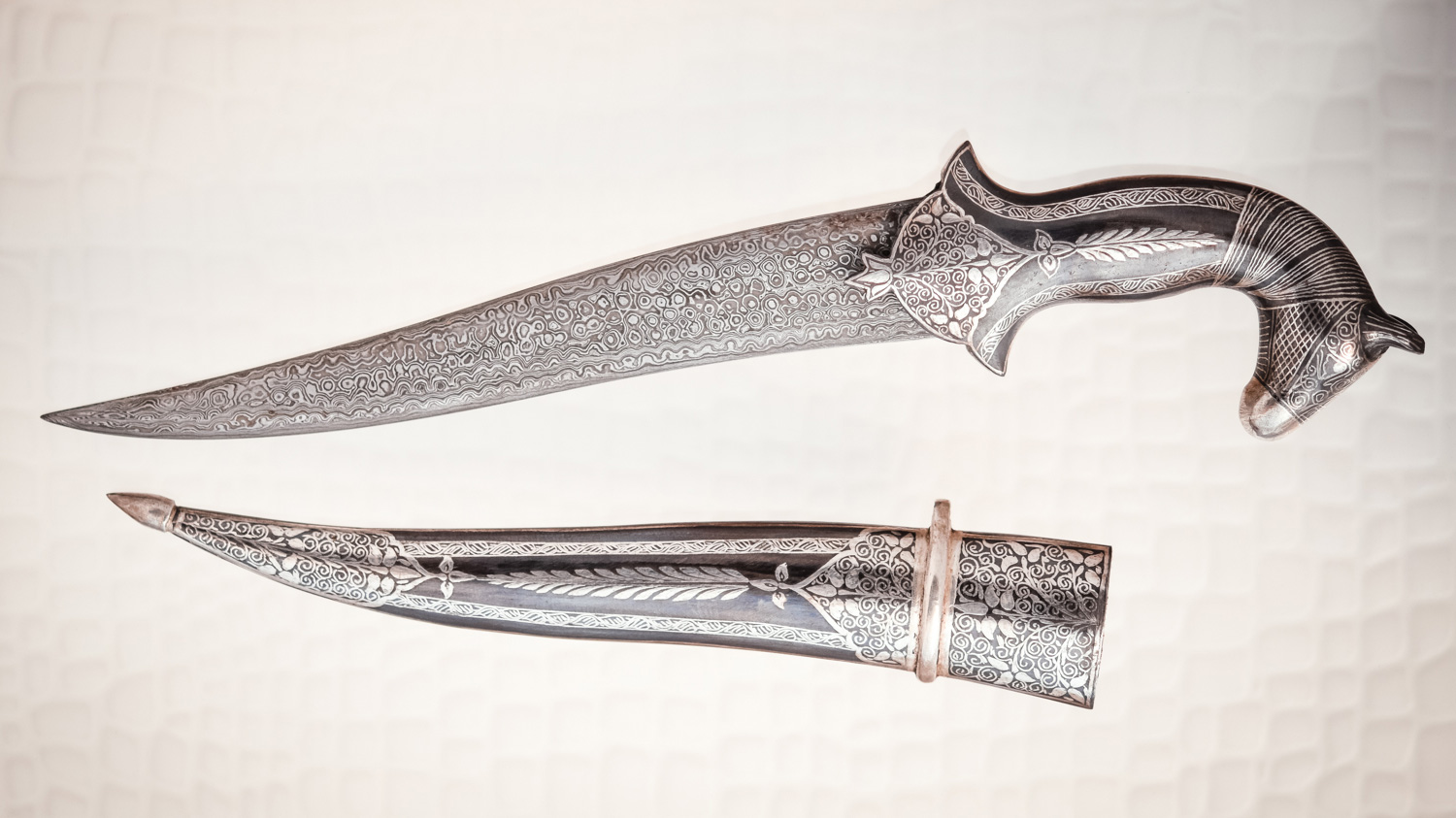 Persian Style Damascus Steel Dagger from Steve's Collection