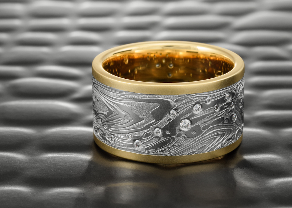Rising Tide Ring designed for the Pure Earth Pure Gold Auction