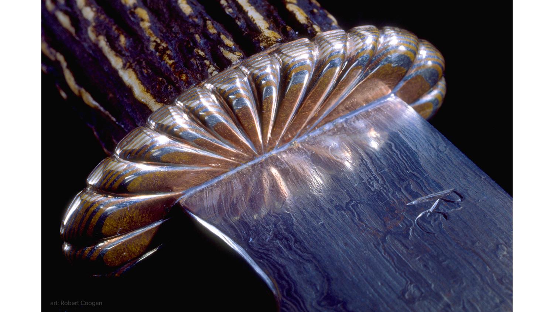 Detail of Knife by Robert Coogan