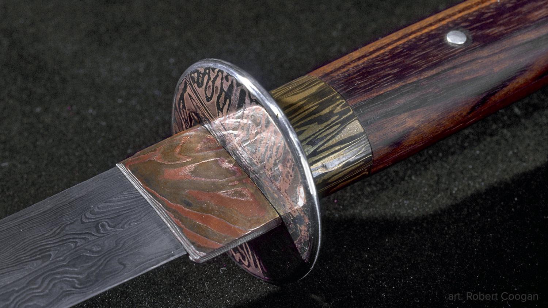 Detail of Sword by Robert Coogan