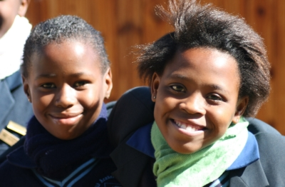 Students at the Child Academy in Tembisa, South Africa