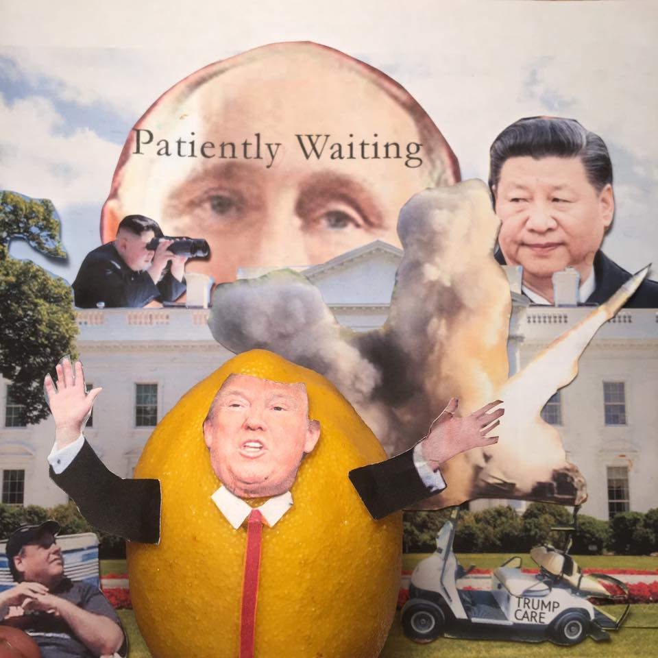 "7.5.17     Driving to Distraction...  ""Meeting with Vlad soon. We are going to say Merry Christmas again. Will discuss gift from North Korea. The gift of distraction. DISTRACTION!!! No, I wasn't distracted when I was getting off the plane. I saw my limo. I was looking for my golf cart. I use my golf cart to conduct diplomacy!""   #LemonLaw"