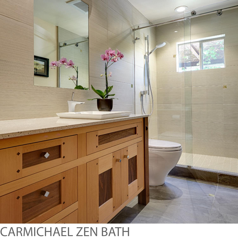 Nar Fine Carpentry. Sacramento. Carmichael. El Dorado Hills. Carmichael Zen Bath