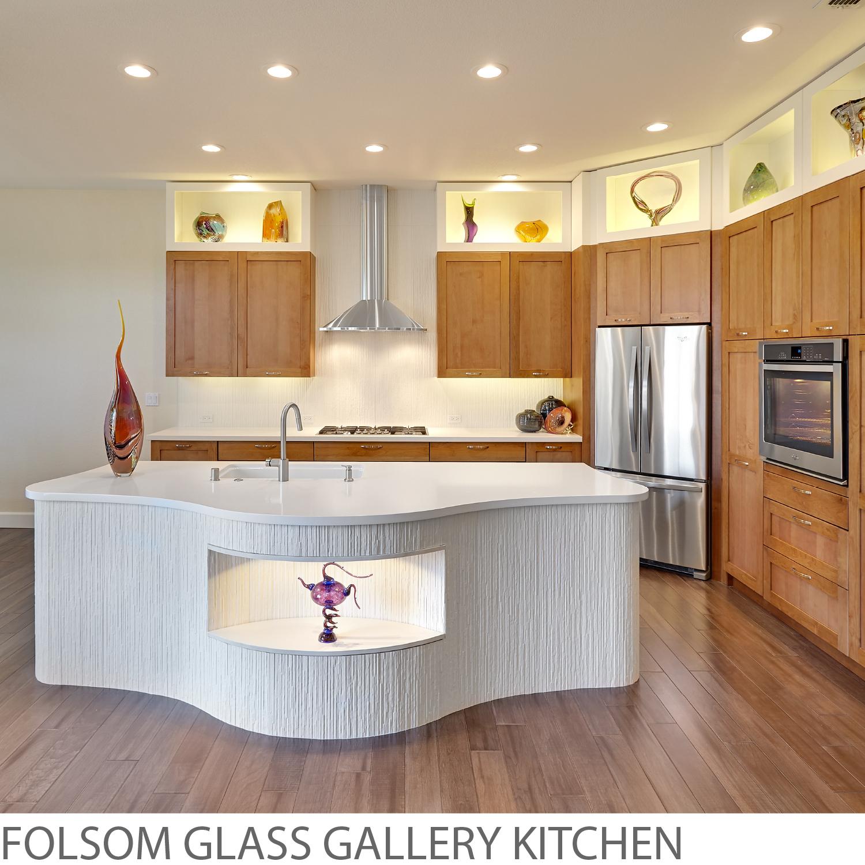 Folsom Glass Gallery Kitchen. NAR Fine Carpentry. Sacramento. El Dorado Hills