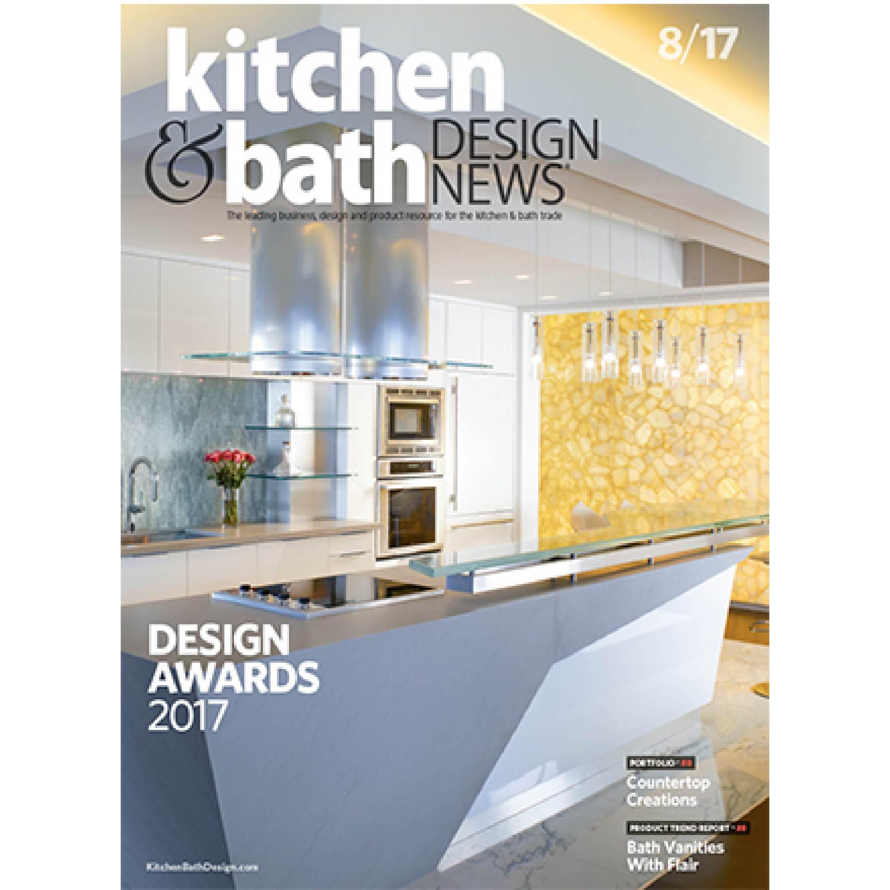 Kitchen & Bath Design News August 2017