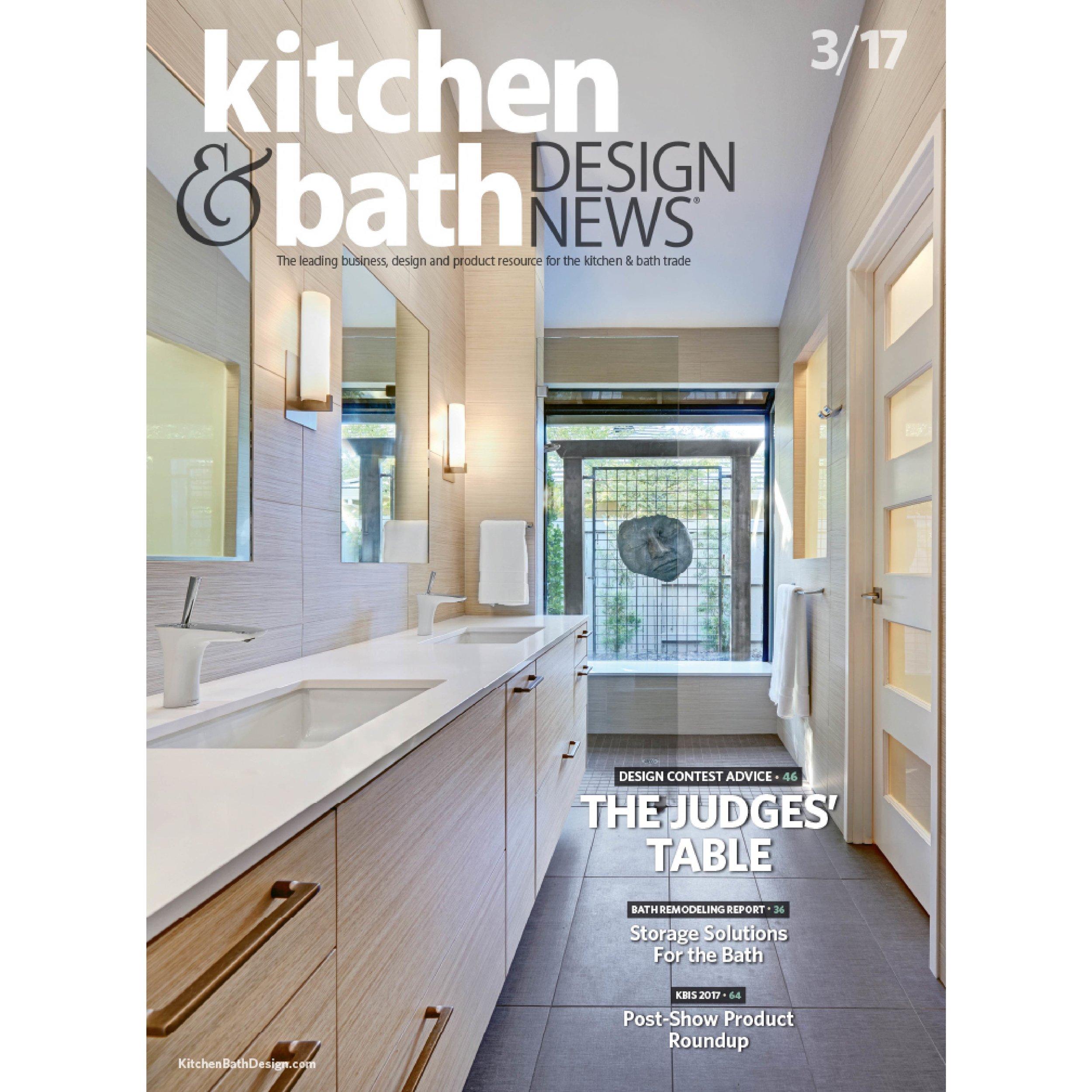 Kitchen & Bath Design News March 2017