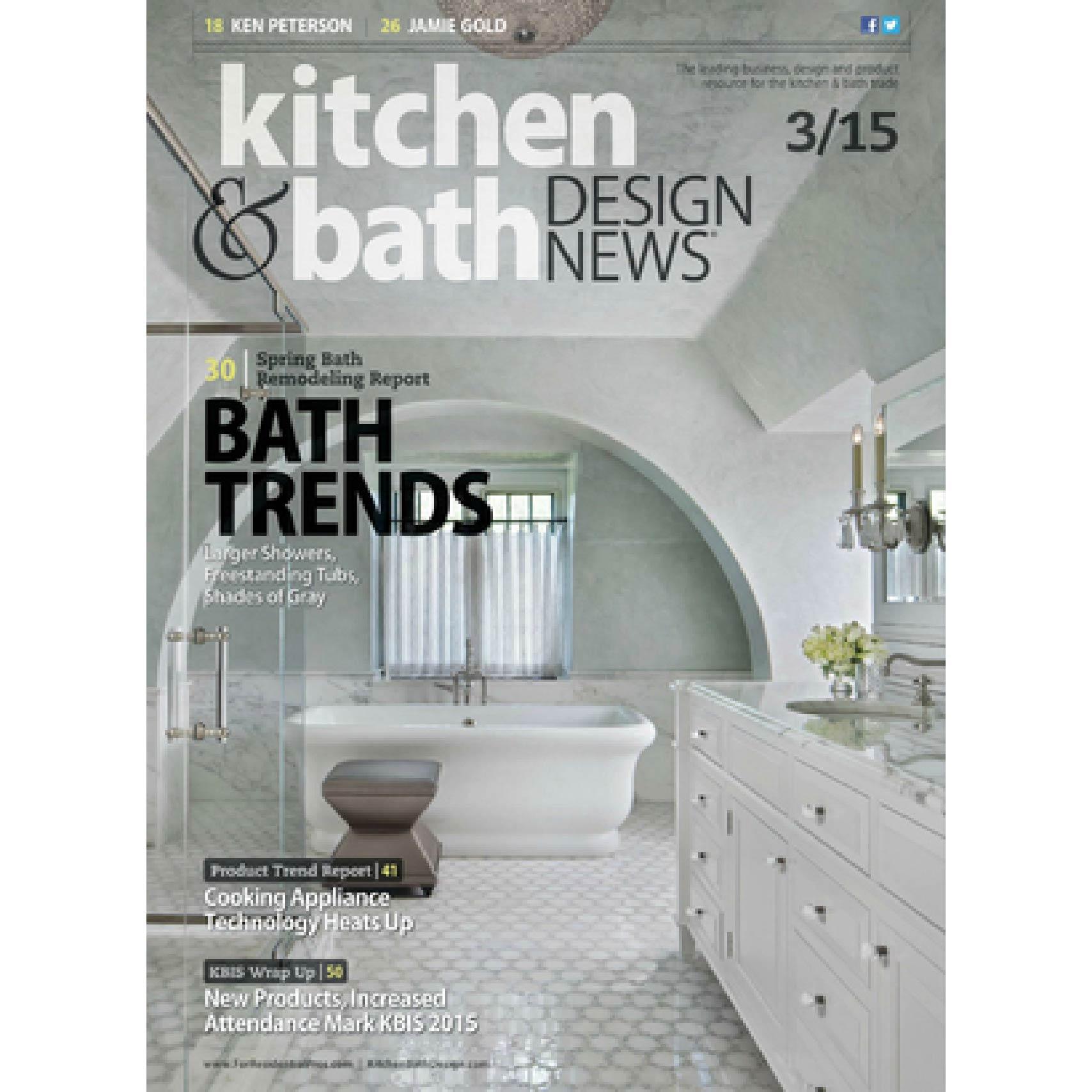 Kitchen & Bath Design News March 2015