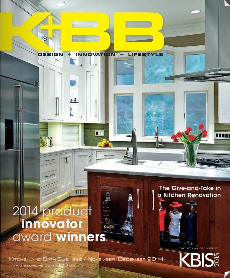 Kitchen & Bath Business, Nov/Dec. 2014