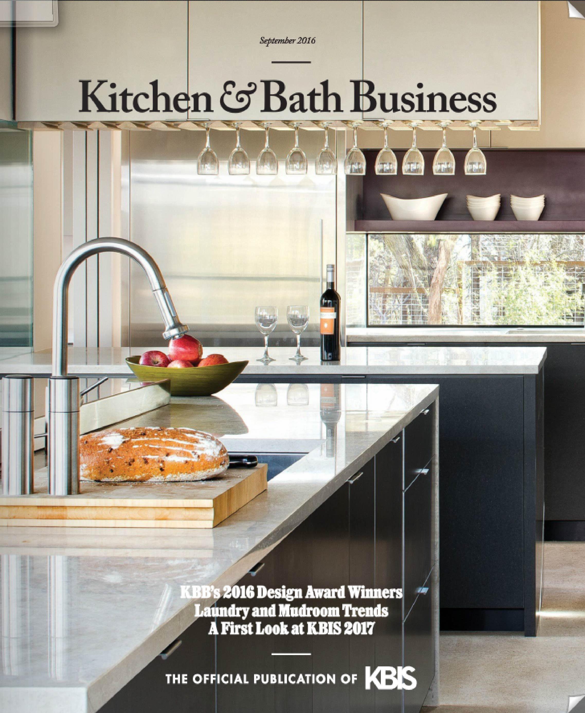 Kitchen & Bath Business Sept. 2016