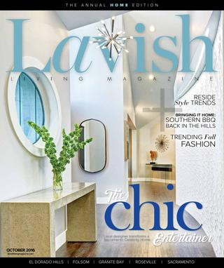 Lavish Living Magazine, Oct. 2016