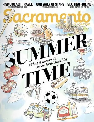Sacramento Magazine, July 2016