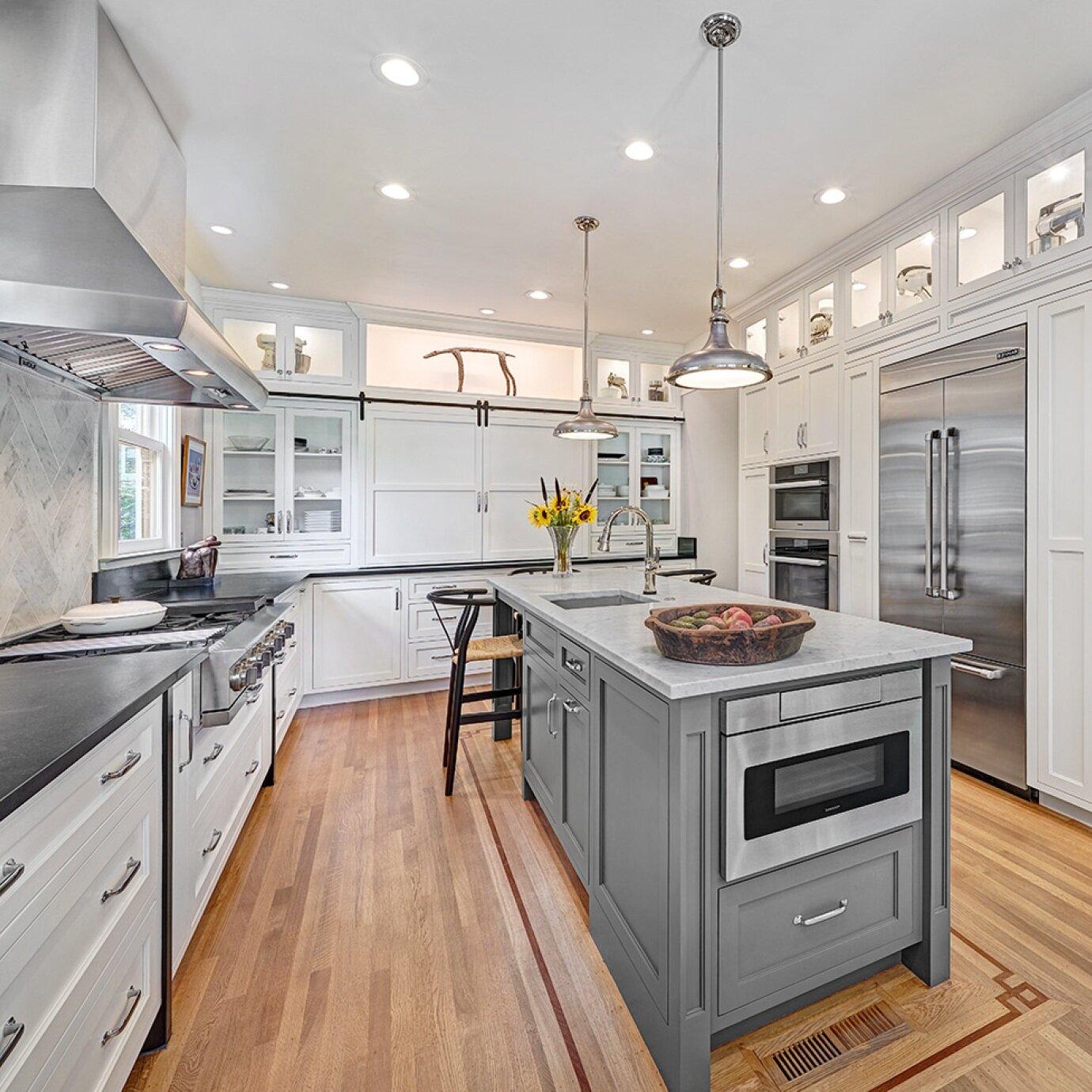 classic foursquare kitchen