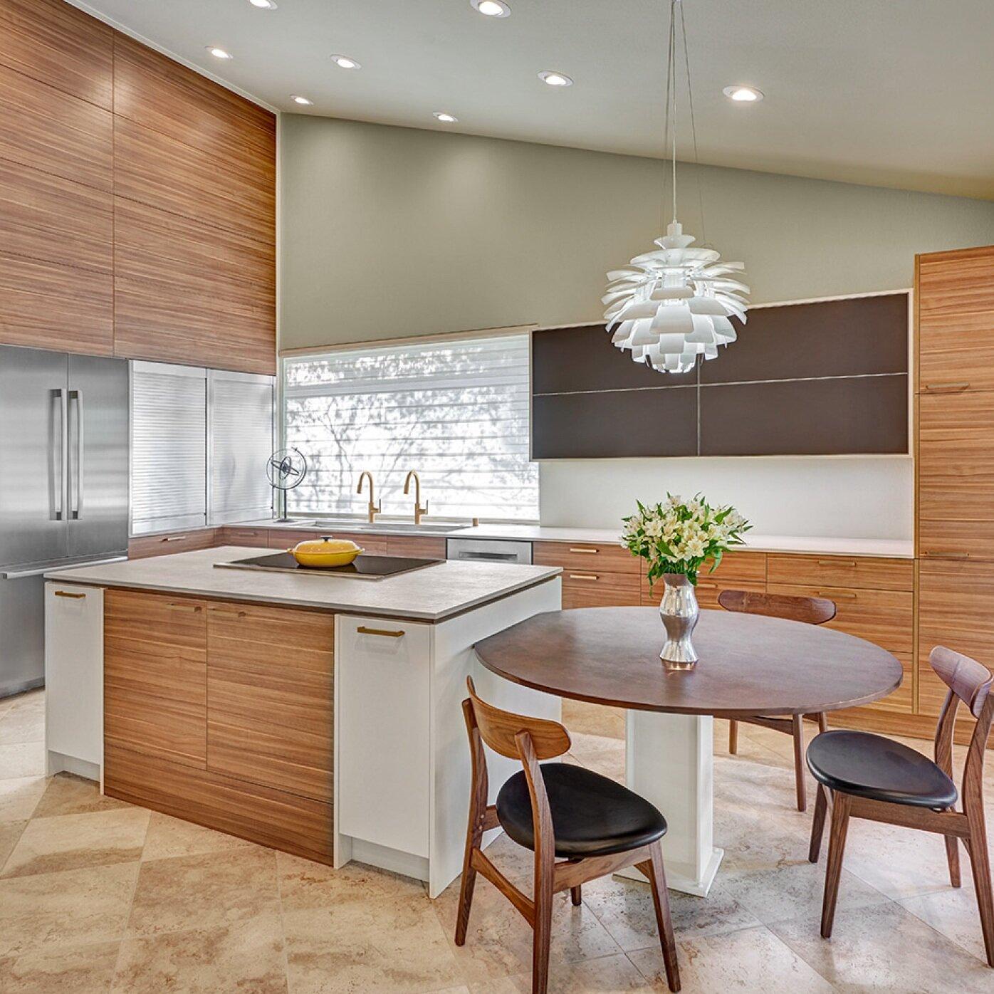 modern cypress kitchen