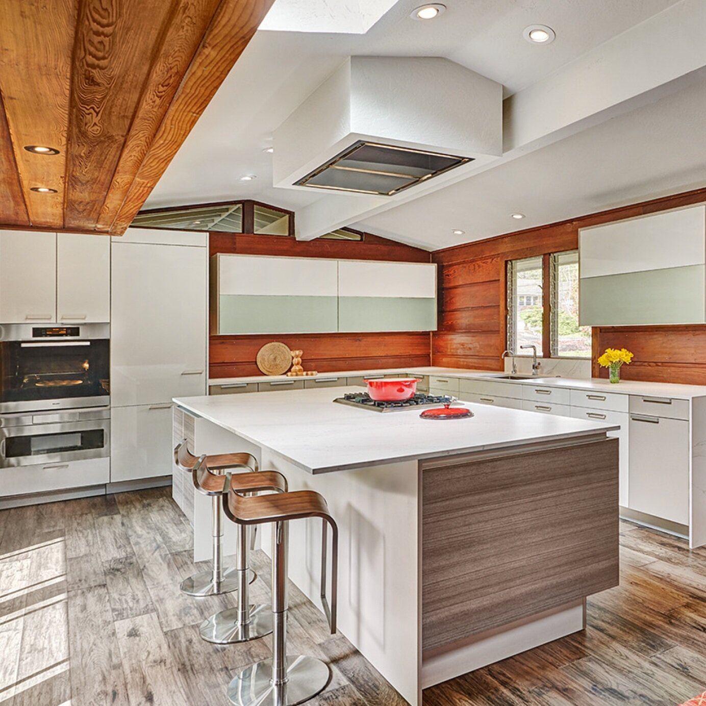 fair oaks modern eclectic kitchen