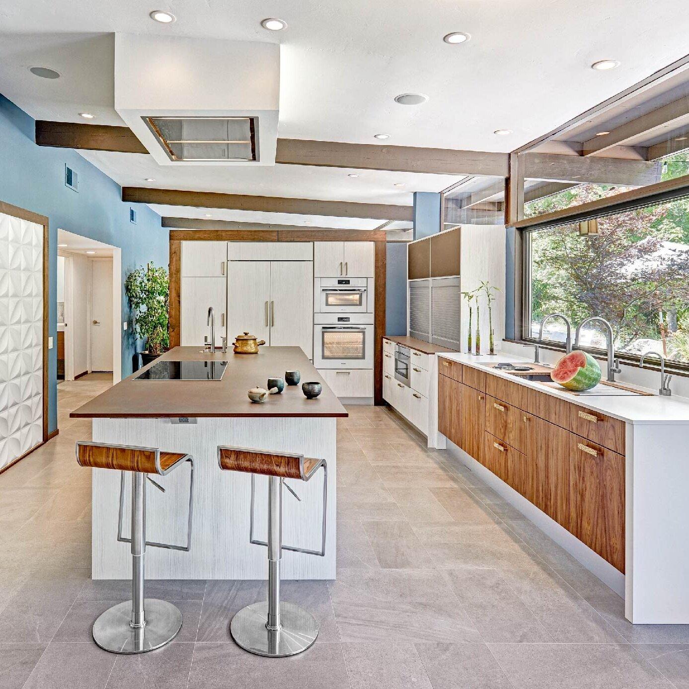 mid-century streng kitchen