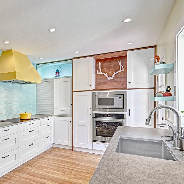 davis bungalow sunshine kitchen