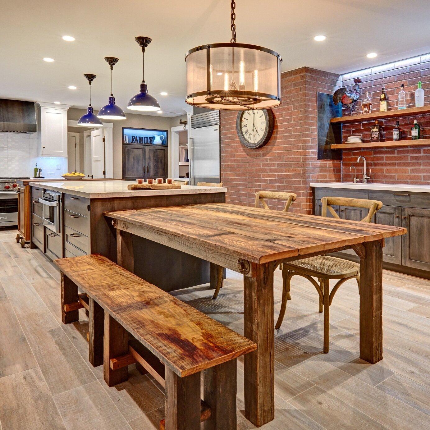 loomis industrial eclectic kitchen
