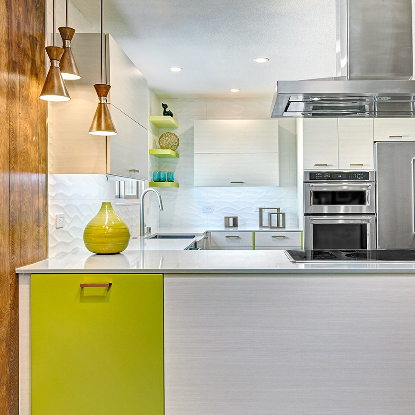 mid-century chartreuse charmer