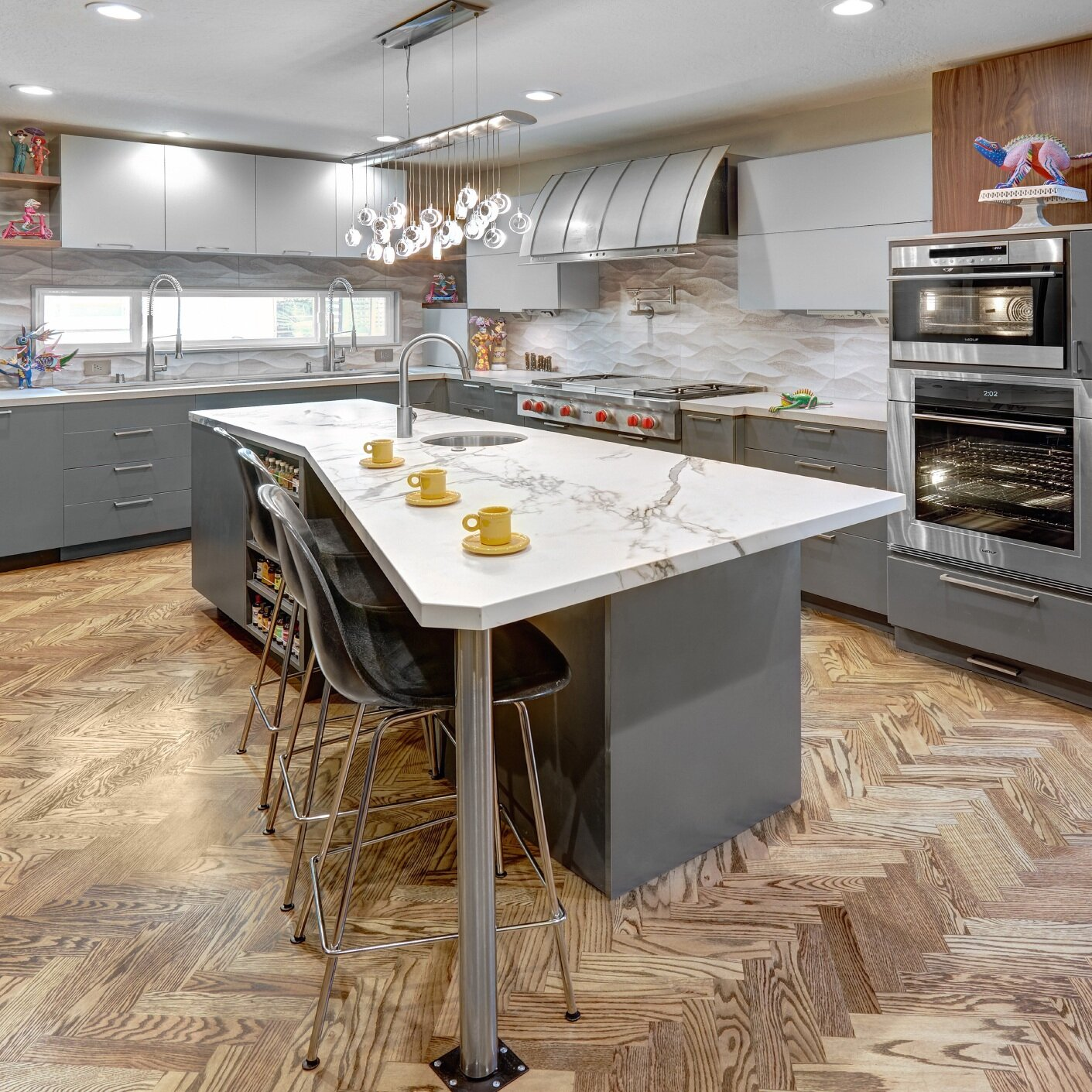 modern oaxaca alebrije kitchen