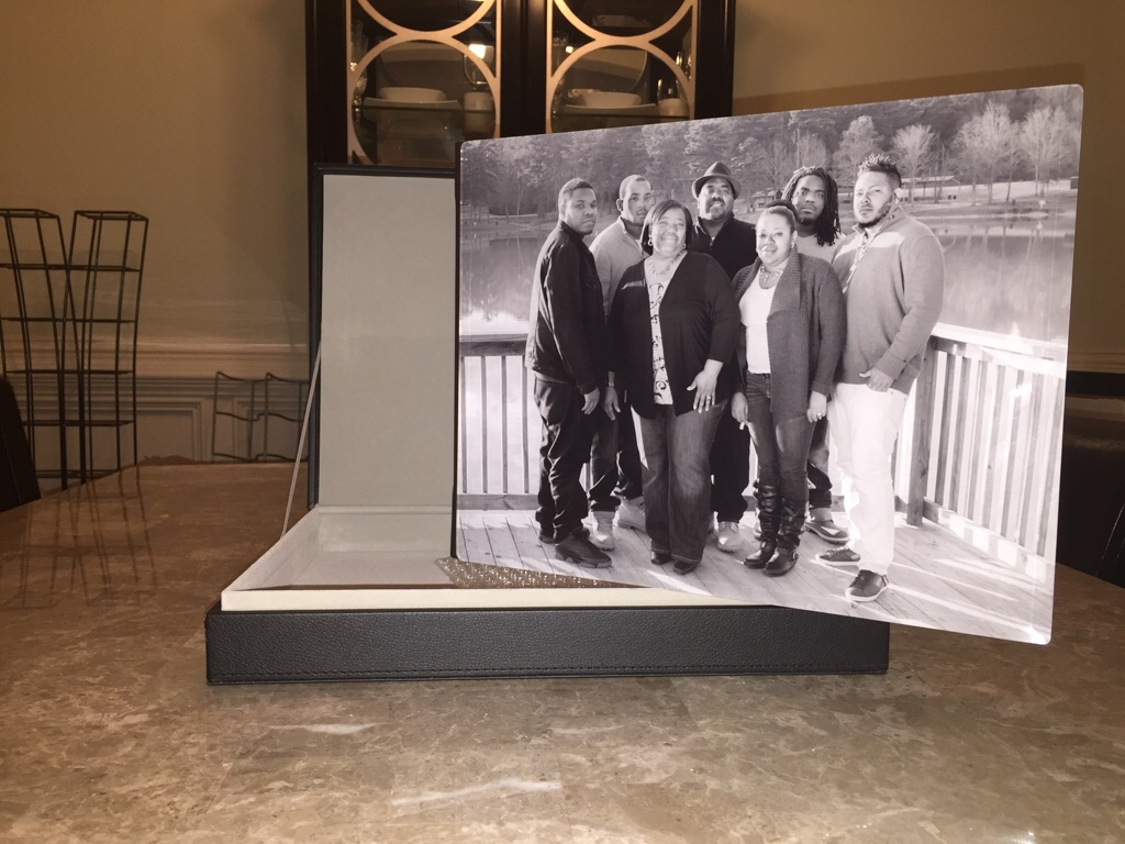 11x14 Crystal Cover Album