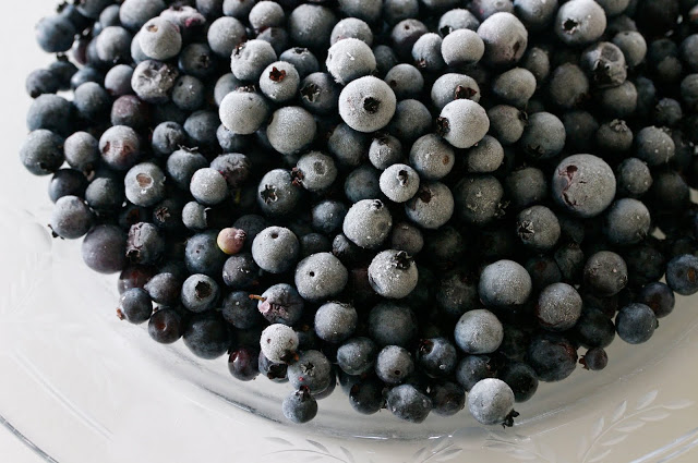 Blueberry sauce for pancakes