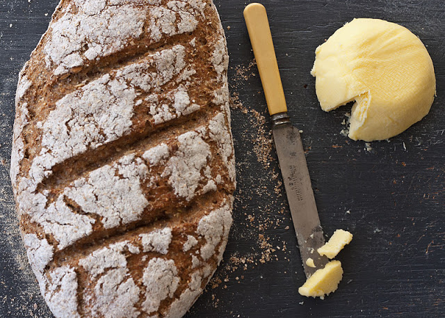 No knead Polish rye