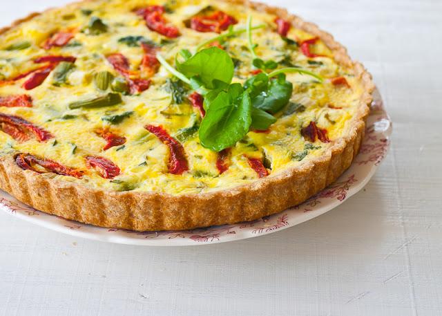 Spontaneous vegetable tart