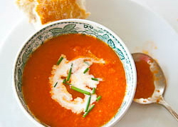 Roasted tomato souo