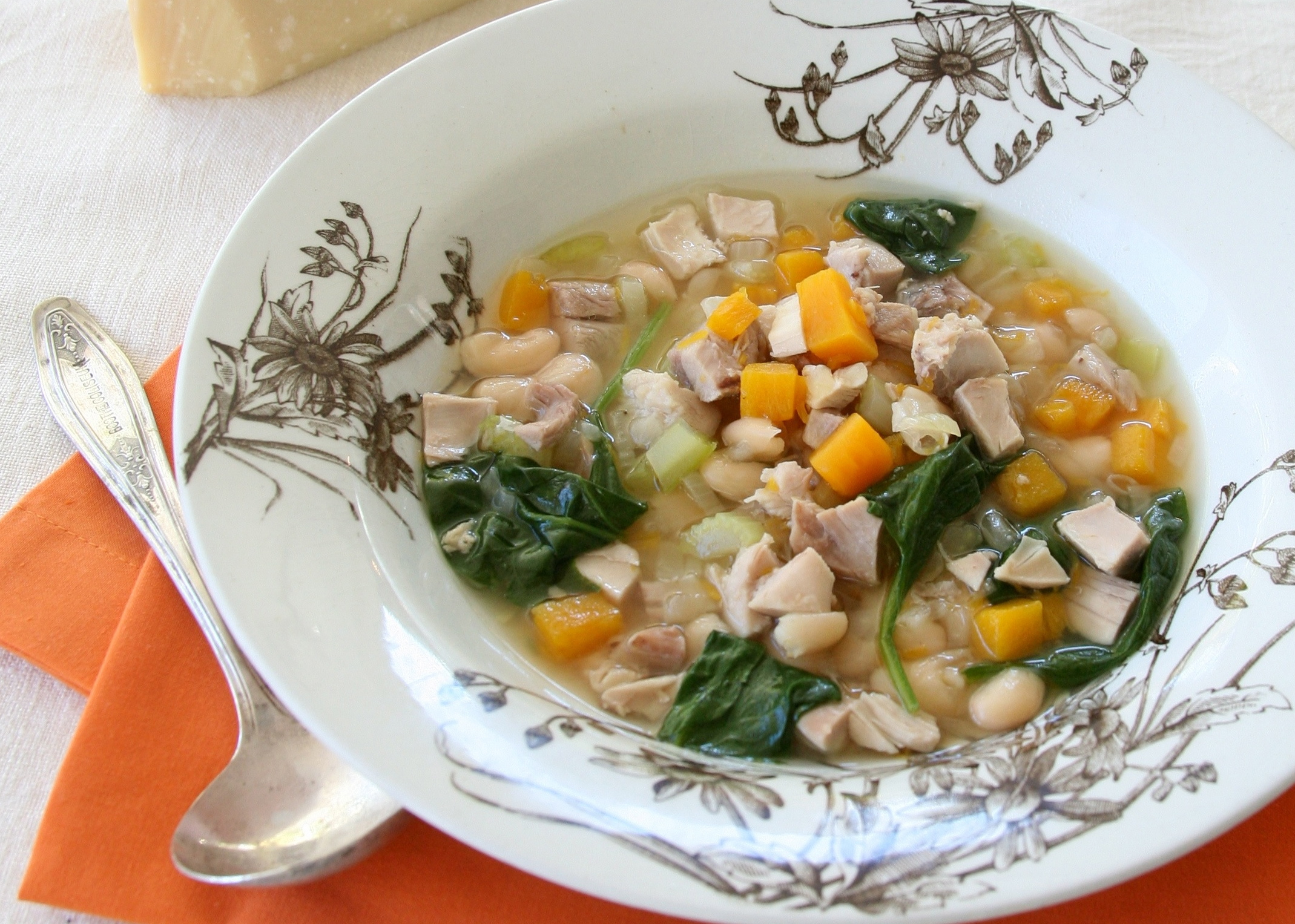 Turkey Squash Soup