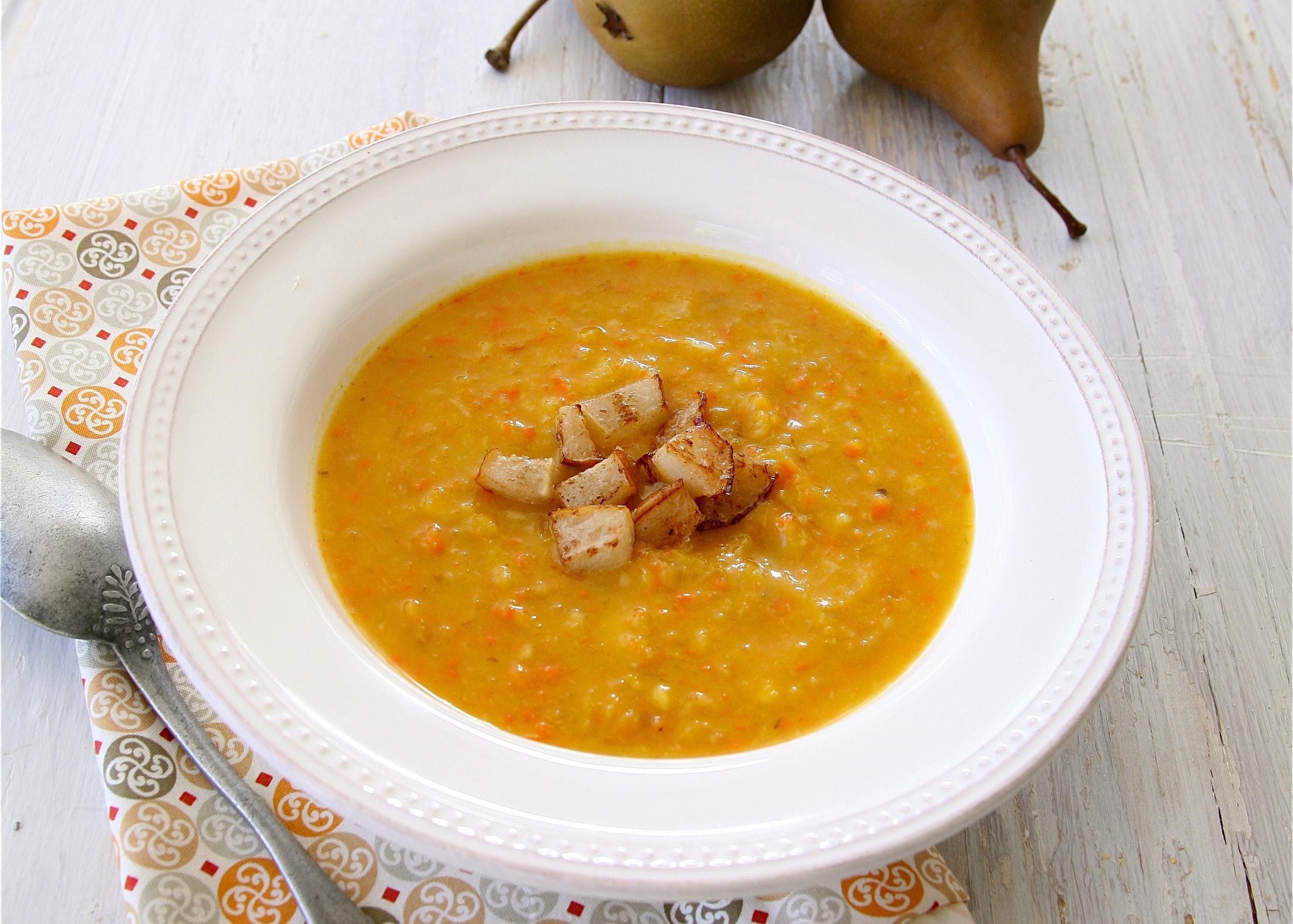 Harvest vegetables soup