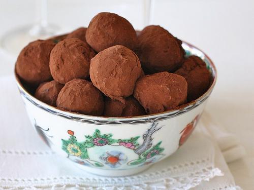 Whiskey truffles