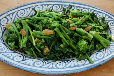 Broccolie rabe agrodolce