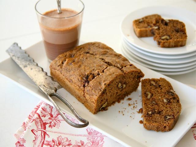 Chocolate wanlut banana bread