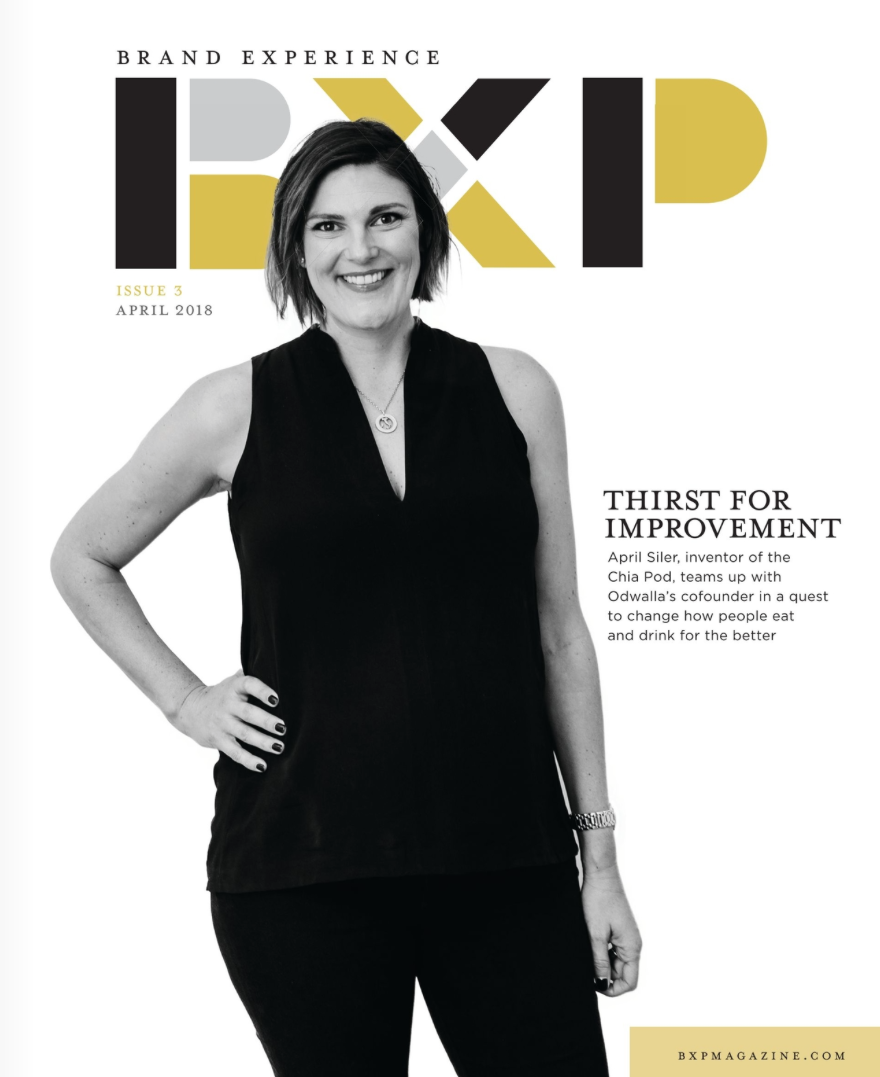 Brand Experience Magazine | Cover Story + 8 pg spread | VP of Marketing Califia Farms