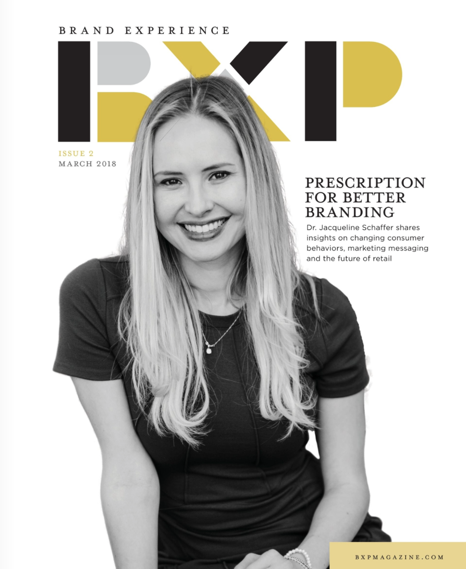 Brand Experience Magazine | Cover Story + 4 pg spread |              Dr.Jacqueline Schaffer CEO and Founder of Schique Skincare